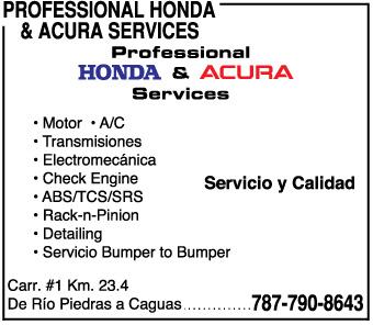"• Reparación de transmisiones • Reparación Motores • Reparación tren delantero • Luz de check-engine • Garantía extendida • Mecánica ""bumper to bumper"""