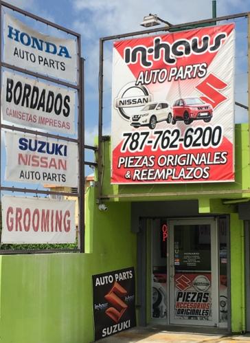 •Piezas de Auto Nissan  •Piezas de Auto Suzuki  •Original y reemplazo