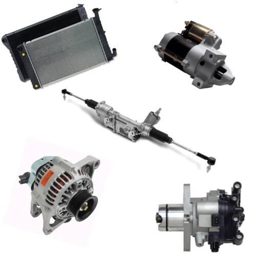 Remanufacturacion de Todo tipo Alternadores y Starters también de equipo pesado, Ejes, Bombas de Power Steering, Rack & Pinions, Igniciones, Booster de Freno y Caja de Guía.