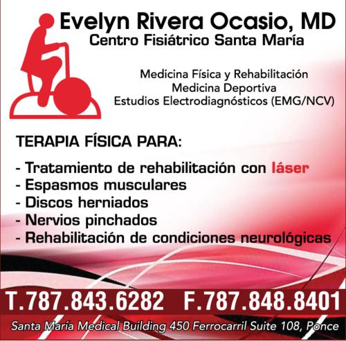Evelyn Rivera Ocasio M.D. - Centro Fisiátrico Santa María