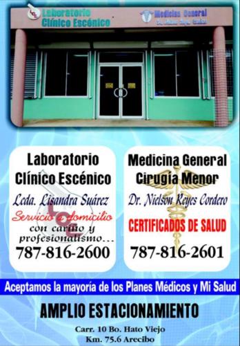 Laboratorio Clínico Escénico | Infopáginas