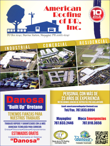 American Roofing Of Pr Infop 225 Ginas