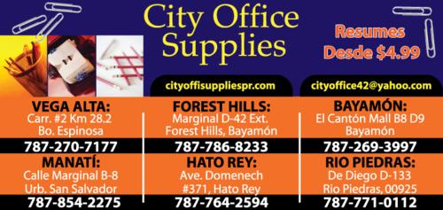 City Office Supplies