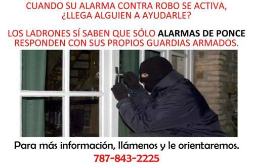 Alarmas Control de Acceso Cámaras de seguridad