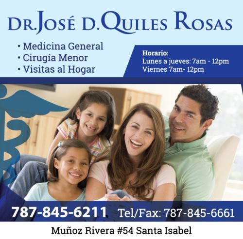 • Medicina General • Cirugía Menor • Visitas al hogar • Certificados de Salud • Certificados de Matrimonio • Certificado de Estudiante • Certificado de Trabajo