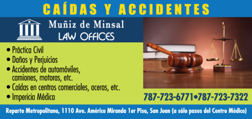Casos civiles y notaría. Apelaciones. Divorcios. Accidentes de autos. Caídas. Reclamaciones de seguros.