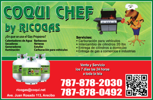 Coqui Chef By RicoGas
