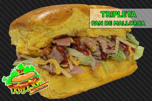 El Tripletón Sandwiches - Carolina