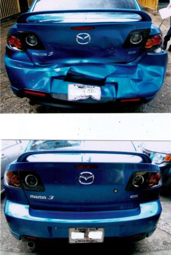 """• Hojalatería y pintura • Enderezado de chasis • Lavado y pulido de autos • Restauración de focos • """"Custom Paint"""" • Restauración de autos"""
