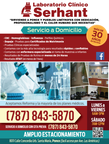 Laboratorio Clínico Serhant