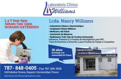 Laboratorio Clínico Williams