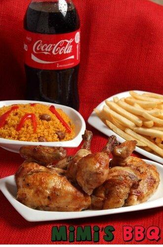 • Arroz • Viandas • Pollo Asado • Mofongo • Comida a la carta • Catering