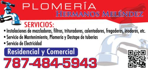 •  Plomería en general •  Destape de tuberías •  Instalaciones de mezcladoras, filtros, trituradoras, calentadores, fregaderos, inodoros, etc. •  Servicio de mantenimiento