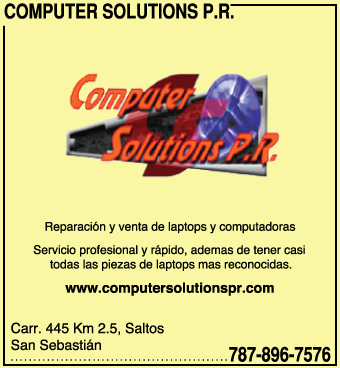COMPUTER SOLUTIONS P.R.