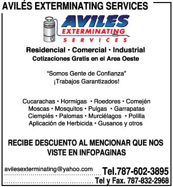 Avilés Exterminating Services
