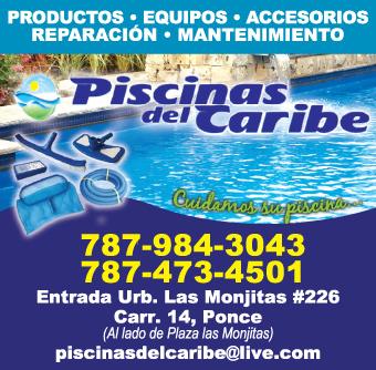 Piscinas del Caribe