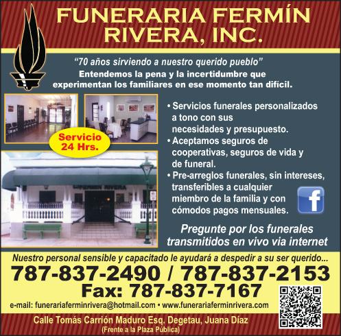 Funeraria Fermín Rivera Inc.
