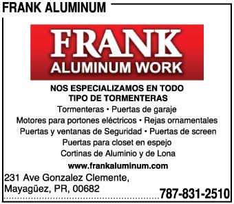 Frank Aluminum
