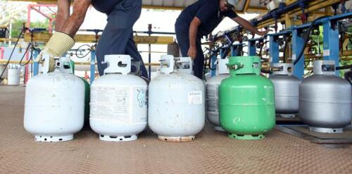 gas líquido y propano