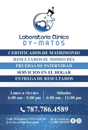 Laboratorio Clínico Dy - Matos