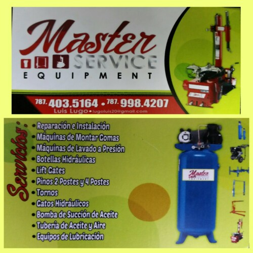 Master Service Equipement