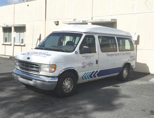 Servicio privado para citas médicas.  Servicio especial para el Hospital de Veteranos y el Hospital Oncológico.