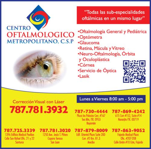 Centro oftalmólogo