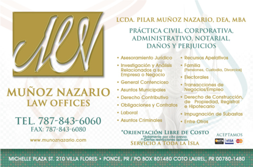 Muñoz Nazario Law Office