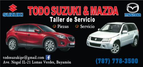 Todo Suzuki - Mazda