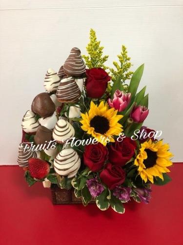 Fruits Flowers Shop Infopáginas