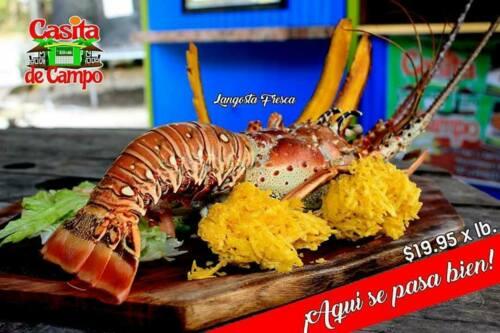 Restaurante comida criolla Mariscos Carnes