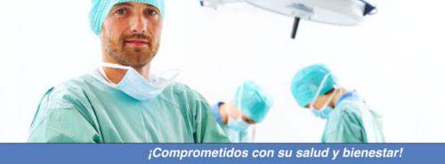 Especialidades:   • Oftalmología • Cirugía general  (Cirugías por laparoscopía) • Manejo de Dolor • Ginecología • Urología