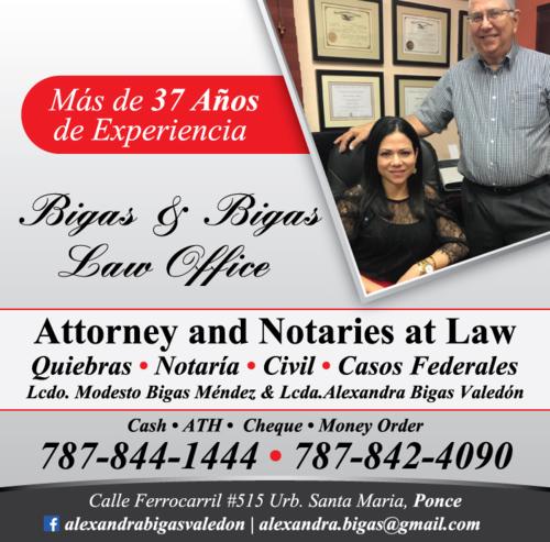 • Notaría • Civil • Quiebras • Casos Administrativos
