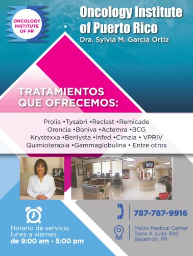 • Médicos Especialistas - Cáncer (Oncología) • Centro de Infusión • Médicos Especialistas - Cirugía/Cáncer (Oncología)