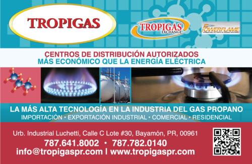 • Gas Propano • Restaurantes • Efectos Y Equipo • Hospitales