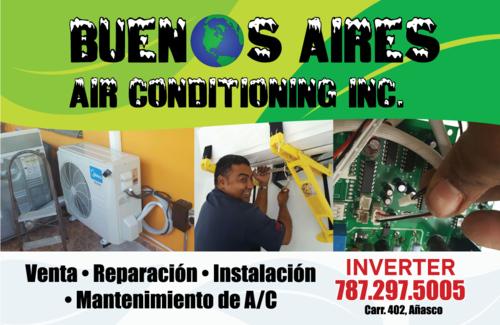 • Venta y Mantenimiento de Aires Acondicionados Inverters para negocios y residenciales. • Aires acondicionados Industriales.  • Contrato de mantenimientos • Inverters  • Servicio a toda la Isla.