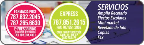 •  Medicamentos de calidad y despacho de recetas •  Información relevante y útil sobre su bienestar •  Monitoreo de diabetes y pérdida de peso •  Productos naturales •  Asistencia médica 24/7