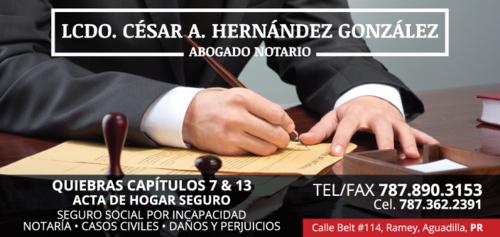 Hernández González César Lcdo.