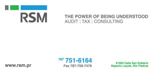 Contadores Publicos Autorizados IVA-PR Consultores Por Especialidad - Sistemas Información