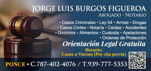 Burgos Figueroa Jorge Luis Lcdo.