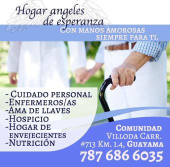 •Cuidado personal •Enfermeros/as •Ama de llaves •Hospicio •Hogar de envejecientes •Nutrición •Entre otros...