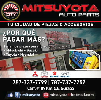 Starters, alternadores con garantía de por vida, pads de frenos, hi-tech, premium metallic & high performance, alfombras, car seat covers, aceite, piezas originales/reemplazo y accesorios para Mitsubishi, Suzuki, Toyota y Hyundai.