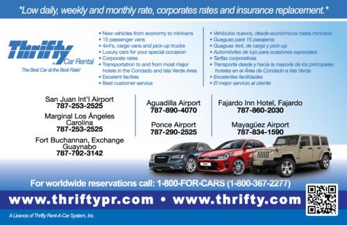 Thrifty Car Rental Infopginas