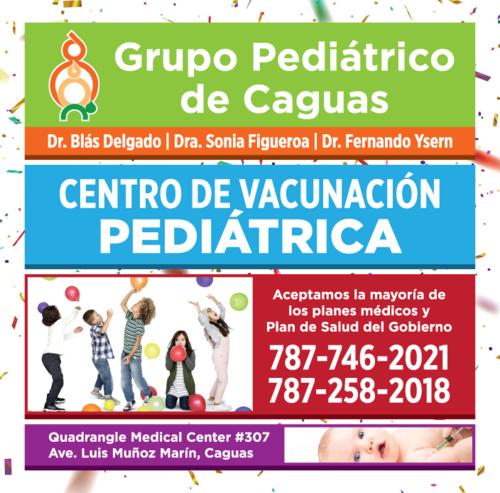 Pediatría y medicina de adolescentes hasta los 21 años. Pediatría en general, Vacunas a los niños, sus padres, familiares adultos y en especial a mujeres embarazadas., etc.