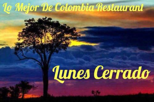 • Comida Criolla y Colombiana. •Frituras •Panadería •Batidas, Café y Chocolate.