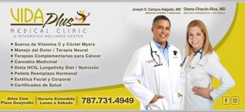 • Clínicas  • Nutricionista • Control y Pérdida de Peso • Certificados de Salud • Médicos Especialistas - Obstetricia Y Ginecología • Sueros de Vitamina C • Médicos - Medicina General