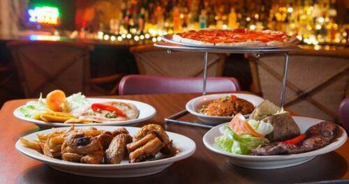•Pizza •Comida Criolla •Carry out •Carnes •Mariscos •Salon de actividades •Mofongo