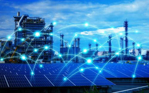 Distribución de materiales electricos, iluminacion y equipo solar.