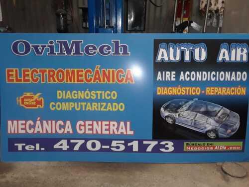 •Electromecánica •Reparación