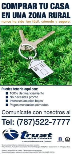Los préstamos hipotecarios para el propósito que tu necesitas: Convencionales Veteranos 203(k) FHA Rural  Reverse